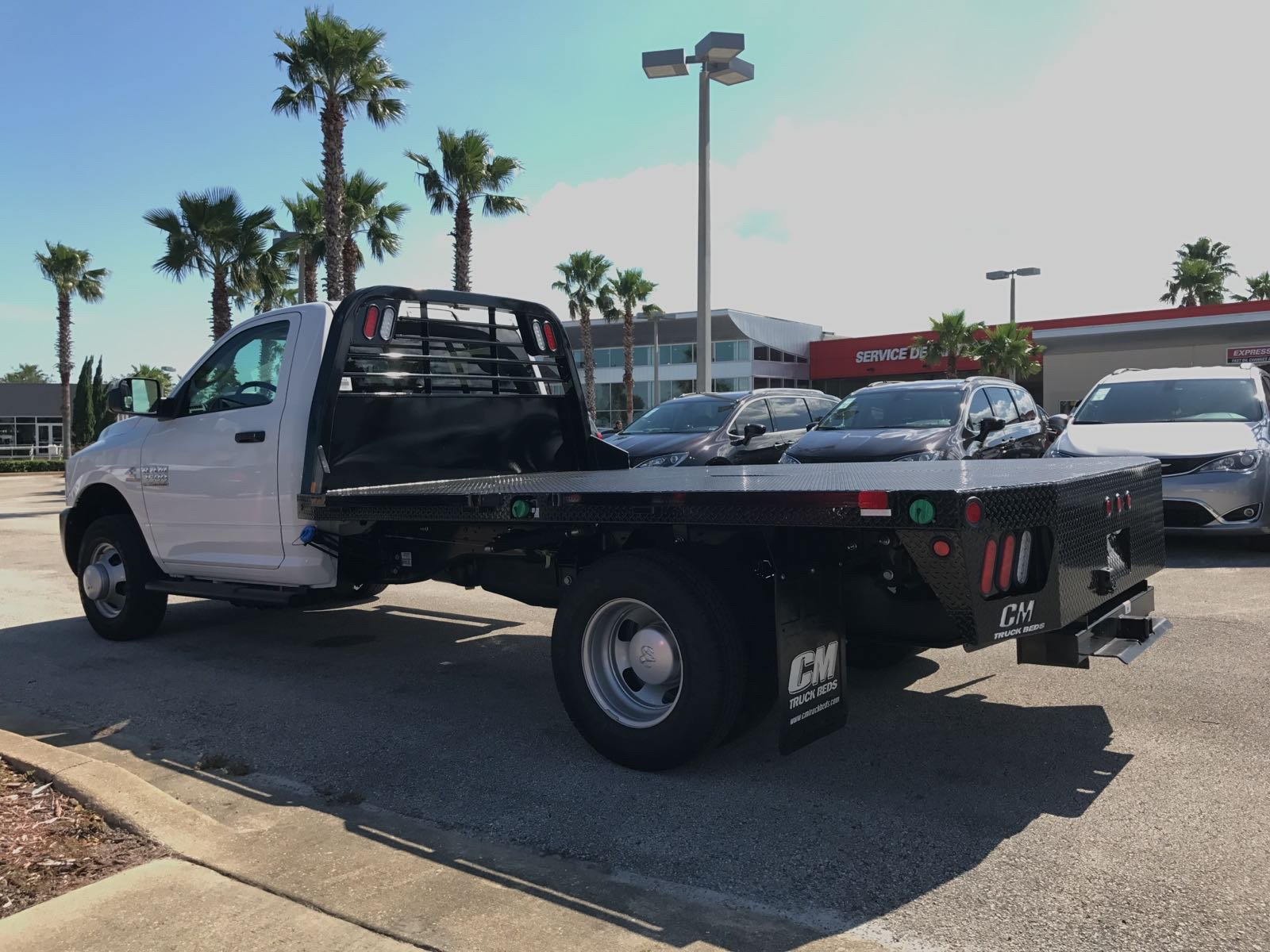 2017 Ram 3500 Regular Cab DRW 4x4, Platform Body #R17734 - photo 2