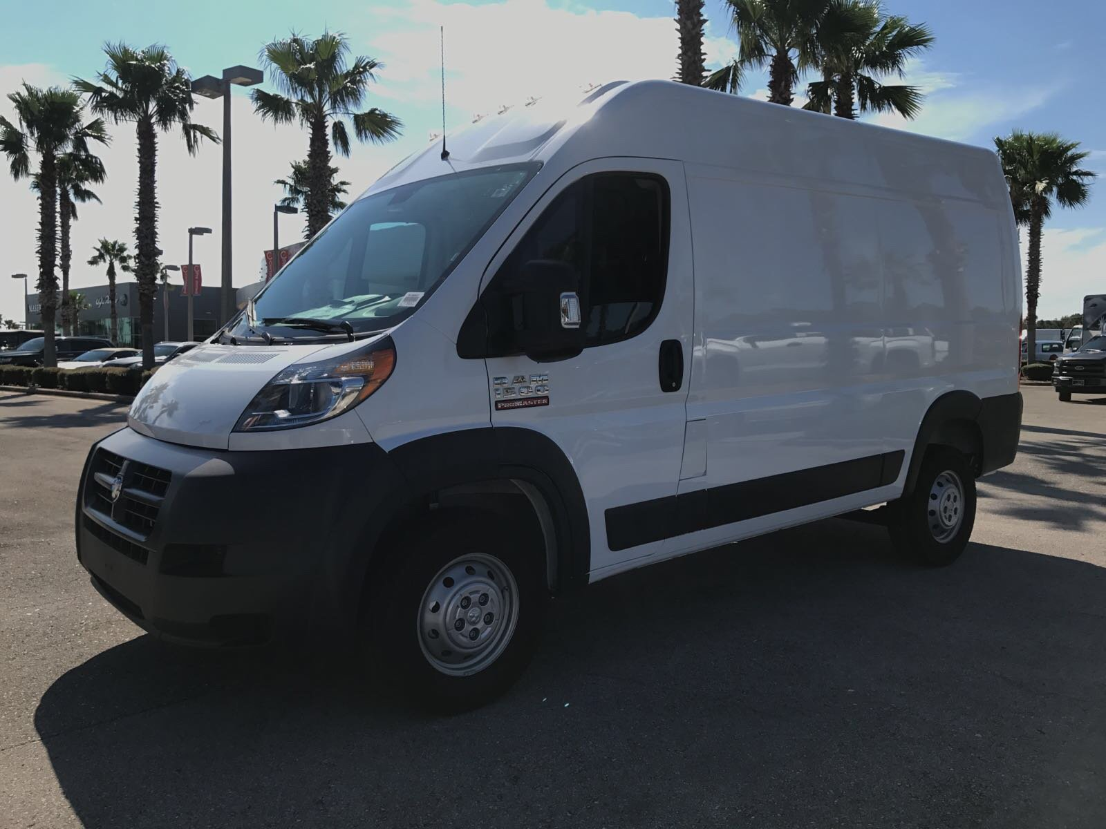 2018 ProMaster 1500 High Roof FWD,  Empty Cargo Van #R18007 - photo 1