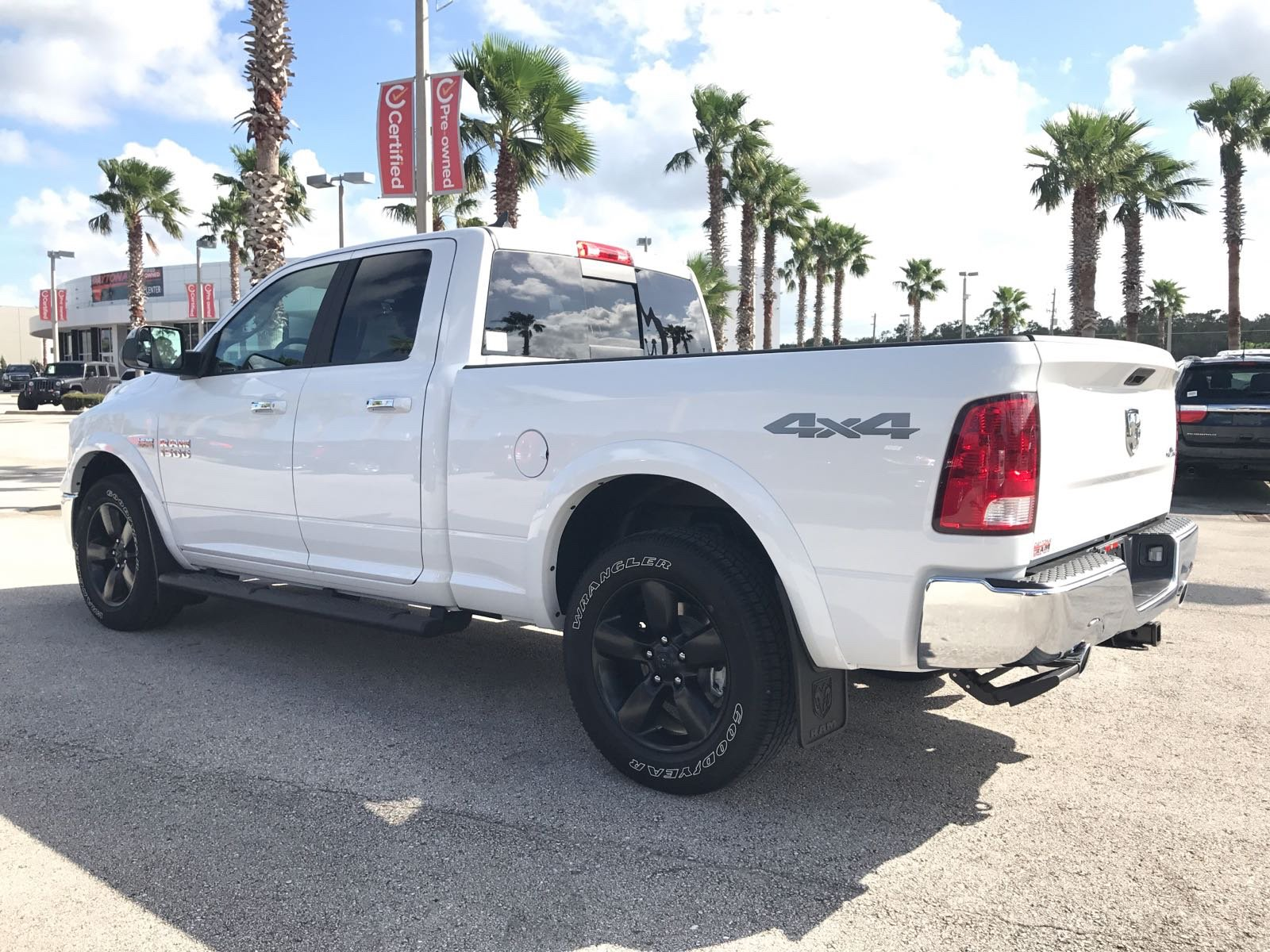 2018 Ram 1500 Quad Cab 4x4,  Pickup #R18076 - photo 2