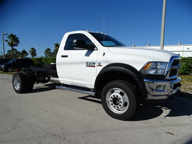 2018 Ram 5500 Regular Cab DRW 4x4,  Cab Chassis #R18325 - photo 3