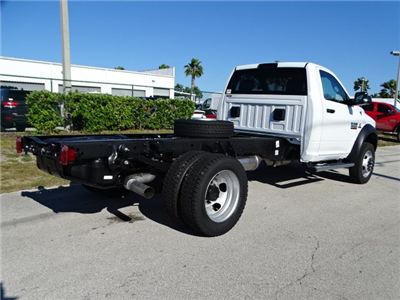 2018 Ram 5500 Regular Cab DRW 4x4,  Cab Chassis #R18325 - photo 5