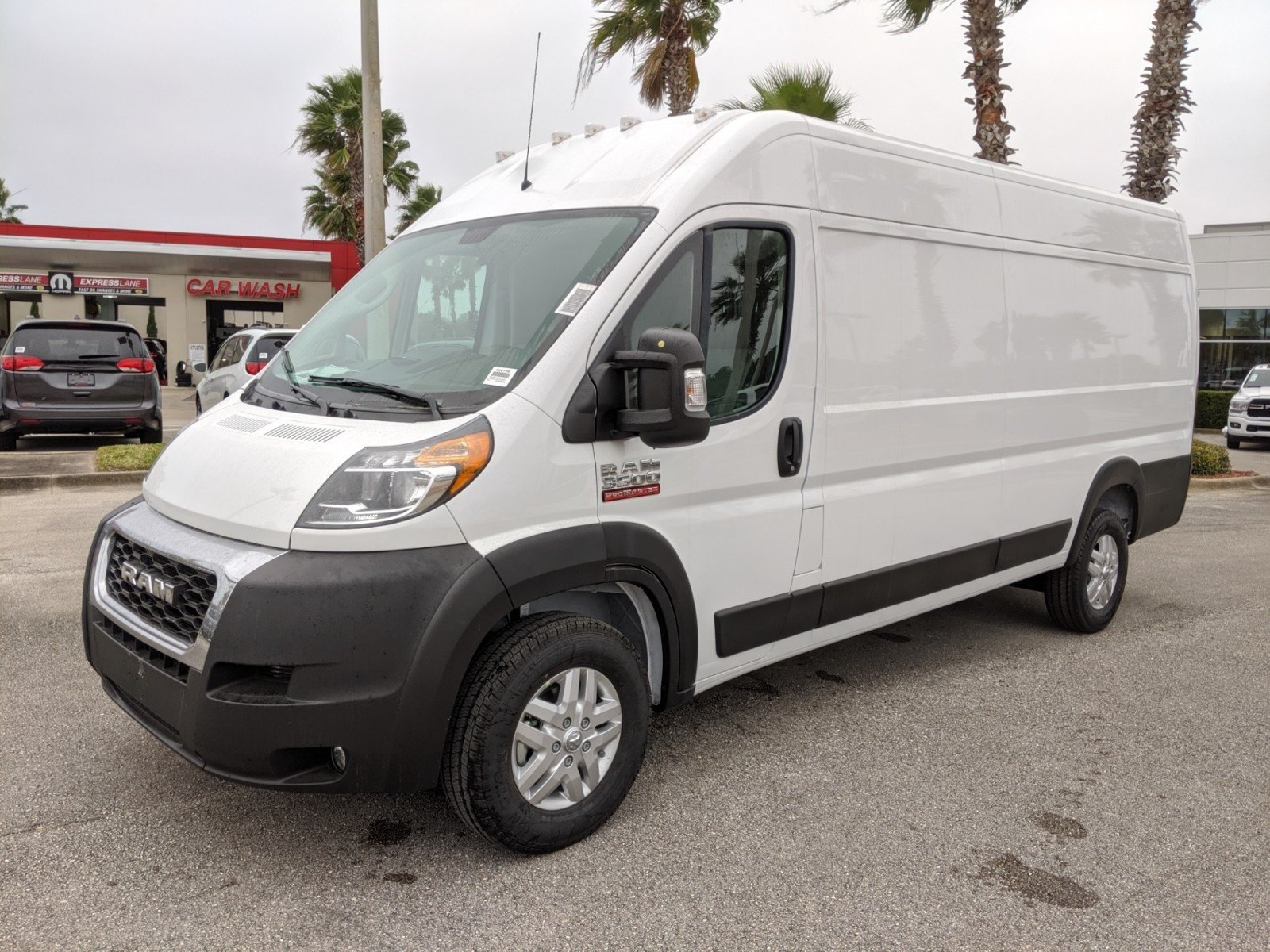 2020 ProMaster 3500 High Roof FWD, Empty Cargo Van #R20109 - photo 1