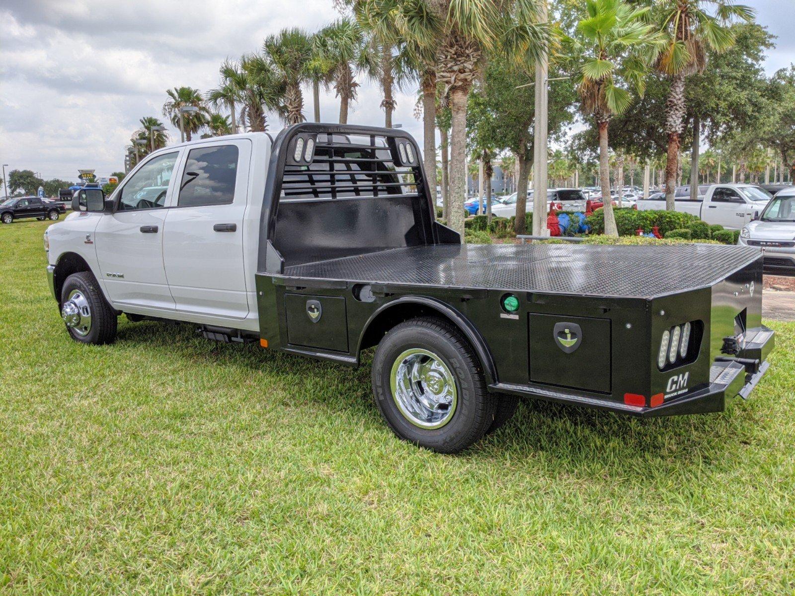 2020 Ram 3500 Crew Cab DRW 4x4, CM Truck Beds Platform Body #R20188 - photo 1