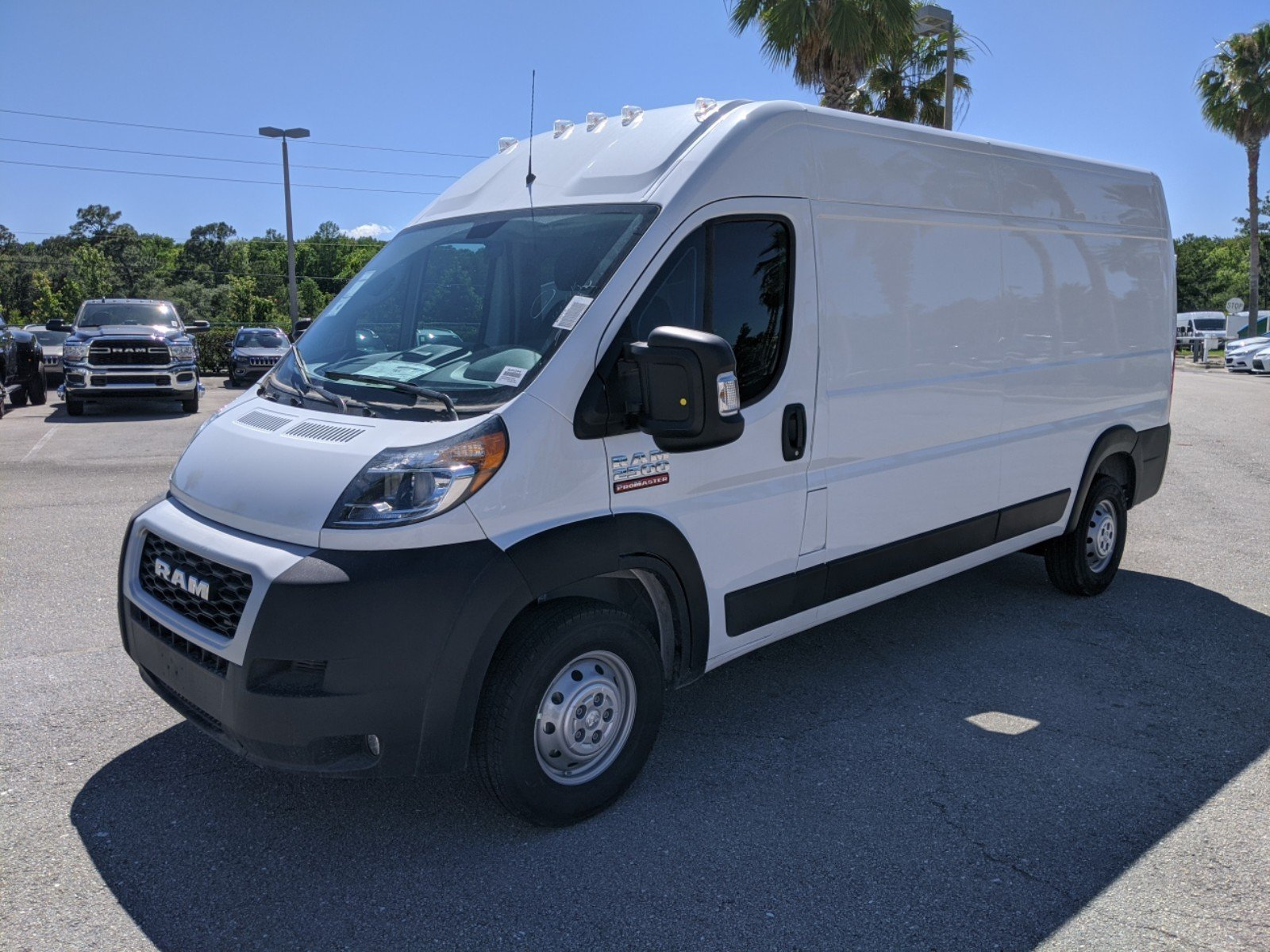 2020 ProMaster 2500 High Roof FWD, Empty Cargo Van #R20204 - photo 1