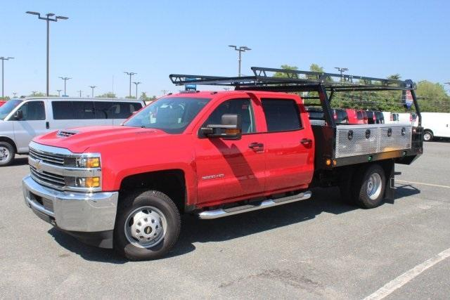 2017 Silverado 3500 Crew Cab 4x4, Freedom Contractor Body #17-1587 - photo 4