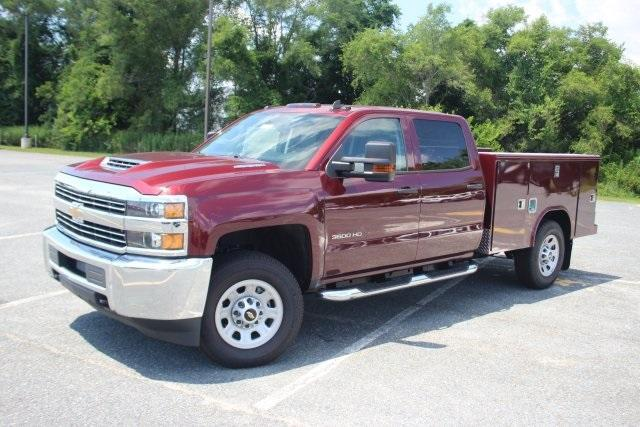 2017 Silverado 3500 Crew Cab 4x4, Reading Service Body #17-1609 - photo 4