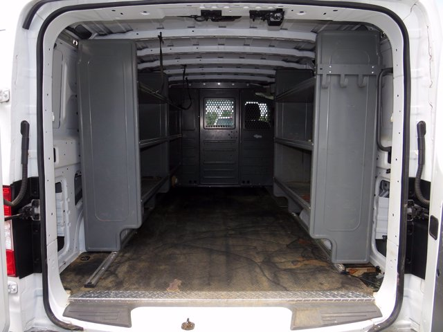 2018 Nissan NV1500 Standard Roof RWD, Adrian Steel Upfitted Cargo Van #FB31655 - photo 1