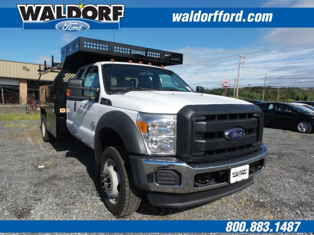 2016 F-550 Super Cab DRW 4x4, Knapheide Value-Master X Contractor Body #WG7464 - photo 3