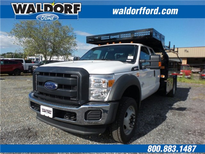 2016 F-550 Super Cab DRW 4x4, Knapheide Value-Master X Contractor Body #WG7464 - photo 1