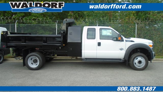 2016 F-550 Super Cab DRW, Rugby Eliminator LP Steel Dump Body #WG7941 - photo 3