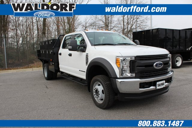 2017 F-450 Crew Cab DRW 4x4,  PJ's Truck Bodies & Equipment Contractor Body #WH5376 - photo 3