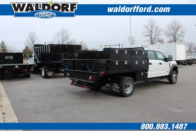 2017 F-450 Crew Cab DRW 4x4,  PJ's Truck Bodies & Equipment Contractor Body #WH5376 - photo 5