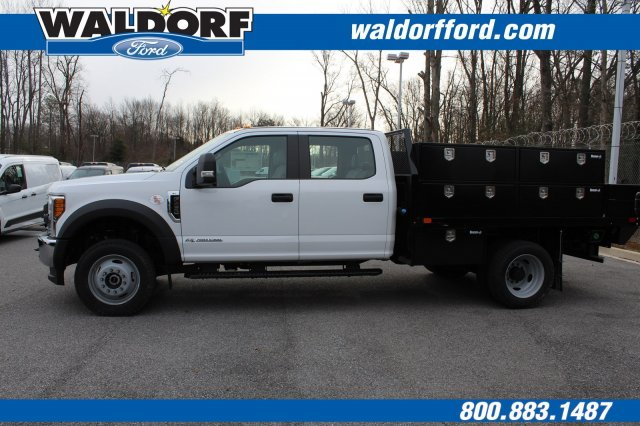 2017 F-450 Crew Cab DRW 4x4,  PJ's Truck Bodies & Equipment Contractor Body #WH5376 - photo 7