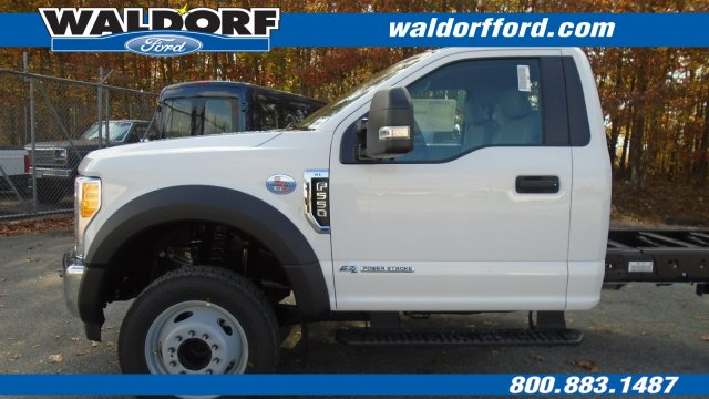 2017 F-550 Regular Cab DRW Cab Chassis #WH7662 - photo 4