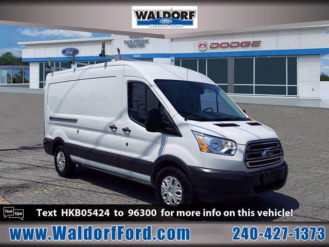 2017 Transit 250 Med Roof 4x2,  Sortimo Upfitted Cargo Van #WH7820 - photo 3