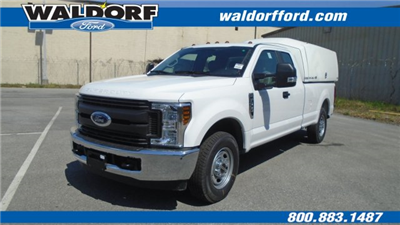 2018 F-350 Super Cab 4x2,  Reading Space Cap Pickup #WJ5646 - photo 1