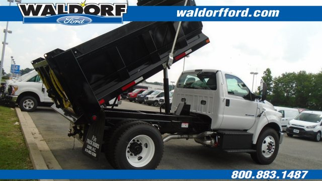 2018 F-750 Regular Cab DRW 4x2,  Godwin Manufacturing Co. Dump Body #WJ6328 - photo 6