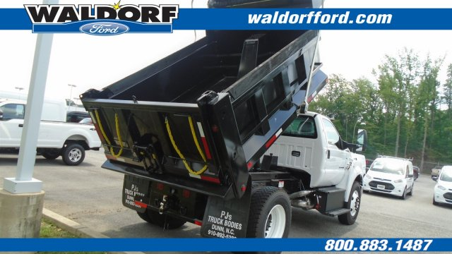 2018 F-750 Regular Cab DRW 4x2,  Godwin Manufacturing Co. Dump Body #WJ6328 - photo 7