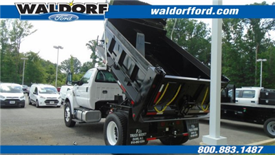 2018 F-750 Regular Cab DRW 4x2,  Godwin Manufacturing Co. Dump Body #WJ6328 - photo 2