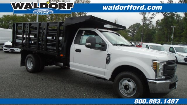 2019 F-350 Regular Cab DRW 4x2,  Stake Bed #WK5097 - photo 4
