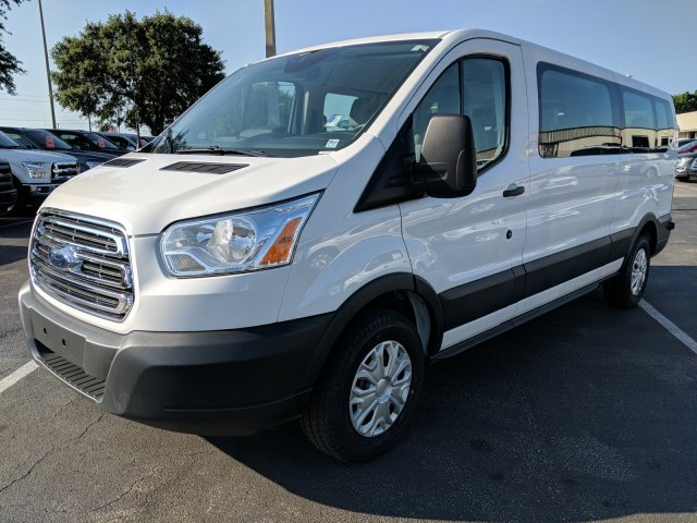 2017 Transit 350 Low Roof 4x2,  Passenger Wagon #AD4675 - photo 5