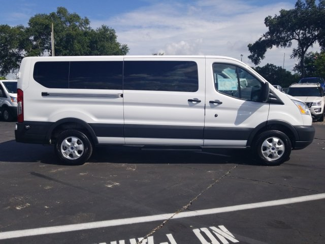 2017 Transit 350 Low Roof 4x2,  Passenger Wagon #AD4677 - photo 8