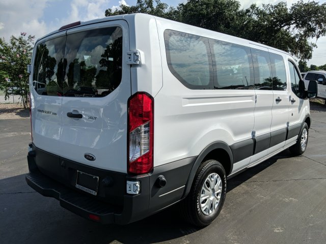 2017 Transit 350 Low Roof 4x2,  Passenger Wagon #AD4695 - photo 3