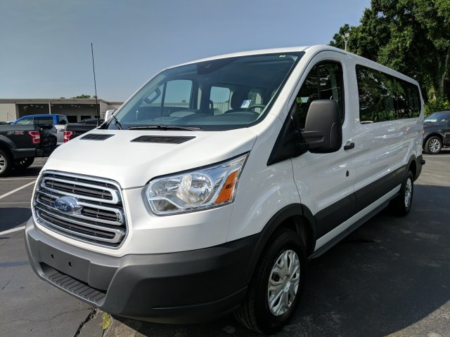 2017 Transit 350 Low Roof 4x2,  Passenger Wagon #AD4695 - photo 5
