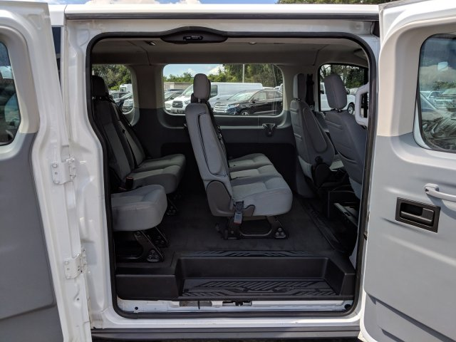 2017 Transit 350 Low Roof 4x2,  Passenger Wagon #CPO5057 - photo 11