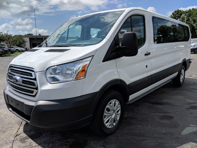 2017 Transit 350 Low Roof 4x2,  Passenger Wagon #CPO5057 - photo 5