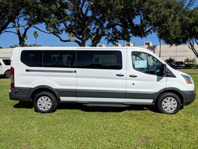 2017 Transit 350 Low Roof 4x2,  Passenger Wagon #CPO5139 - photo 4