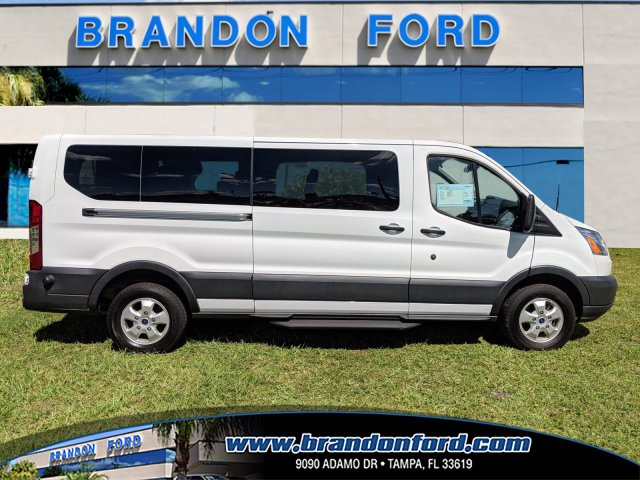 2017 Transit 350 Low Roof 4x2,  Passenger Wagon #CPO5140 - photo 1