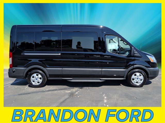 2018 Transit 350 Med Roof 4x2,  Passenger Wagon #CPO5920 - photo 1