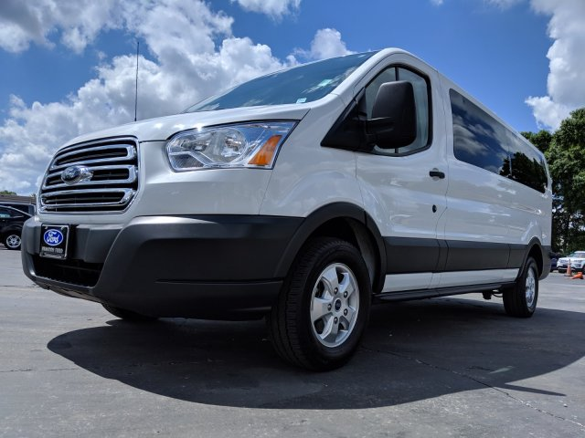2018 Transit 350 Low Roof 4x2,  Passenger Wagon #CPO5975 - photo 3