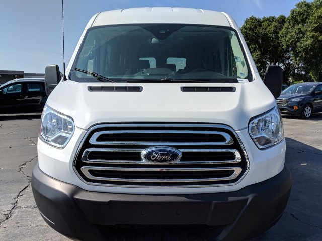 2019 Transit 350 Med Roof 4x2,  Passenger Wagon #CPO6645 - photo 9
