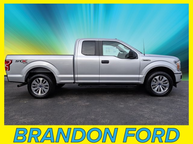 2018 F-150 Super Cab 4x4,  Pickup #CPO6856 - photo 1