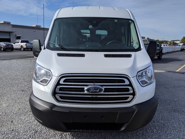 2019 Transit 350 Med Roof 4x2, Passenger Wagon #CPO6879 - photo 10