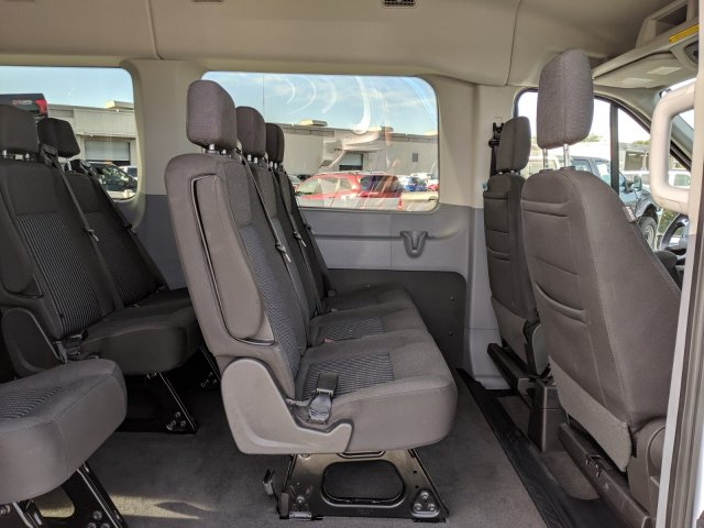 2019 Transit 350 Med Roof 4x2, Passenger Wagon #CPO6879 - photo 16