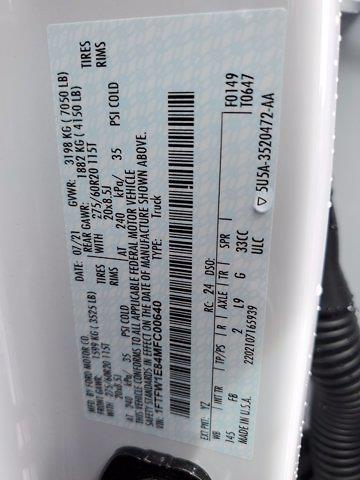 2021 F-150 SuperCrew Cab 4x4,  Pickup #DD1083 - photo 27