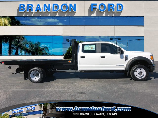 2017 F-450 Crew Cab DRW 4x4, Knapheide Value-Master X Flatbed Body #H7558 - photo 1