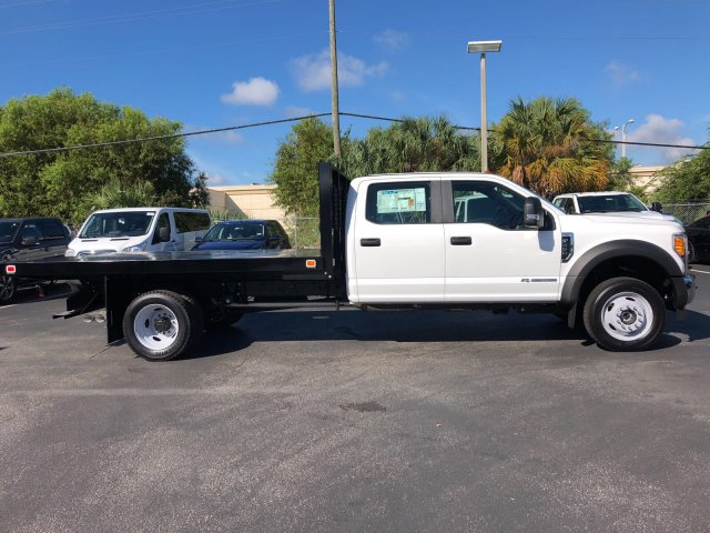 2017 F-450 Crew Cab DRW 4x4, Knapheide Value-Master X Flatbed Body #H7558 - photo 3