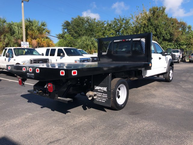 2017 F-450 Crew Cab DRW 4x4, Knapheide Value-Master X Flatbed Body #H7558 - photo 2