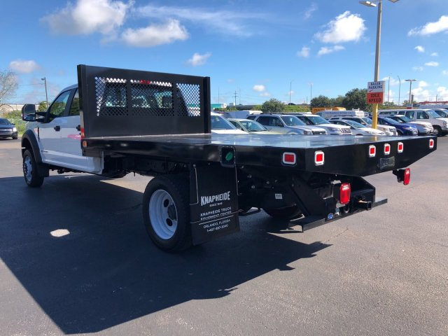2017 F-450 Crew Cab DRW 4x4, Knapheide Flatbed Body #H7558 - photo 5