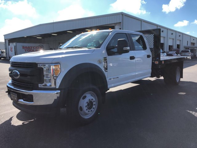 2017 F-450 Crew Cab DRW 4x4, Knapheide Value-Master X Flatbed Body #H7558 - photo 6