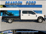 2017 F-350 Crew Cab DRW 4x4, Knapheide Flatbed Body #H8080 - photo 1