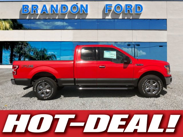 2018 F-150 Super Cab 4x4, Pickup #J1170 - photo 1