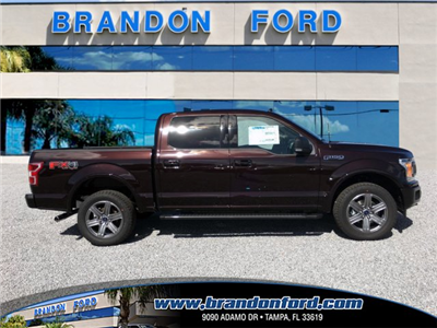 2018 F-150 Crew Cab 4x4, Pickup #J1208 - photo 1
