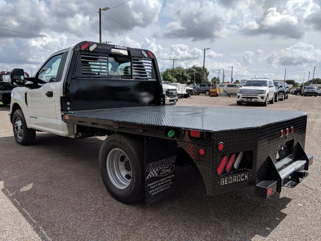 2018 F-350 Regular Cab DRW 4x2,  Bedrock Flatbed Body #J6251 - photo 8