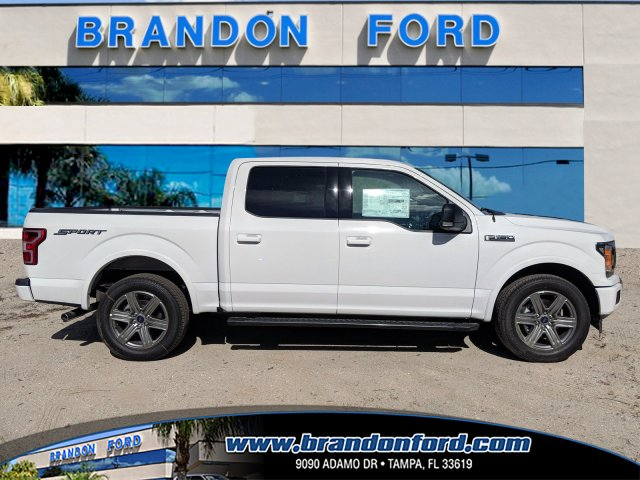 2018 F-150 SuperCrew Cab 4x2,  Pickup #J8210 - photo 1