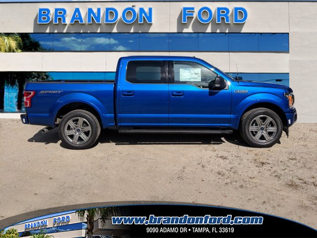2018 F-150 SuperCrew Cab 4x2,  Pickup #J8240 - photo 1